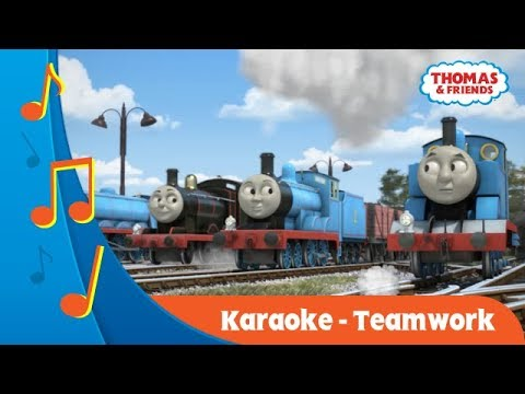 Kereta Thomas & Friends Indonesia: Karaoke - Teamwork