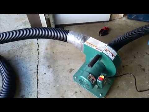 DIY Blown In Insulation Vacuum