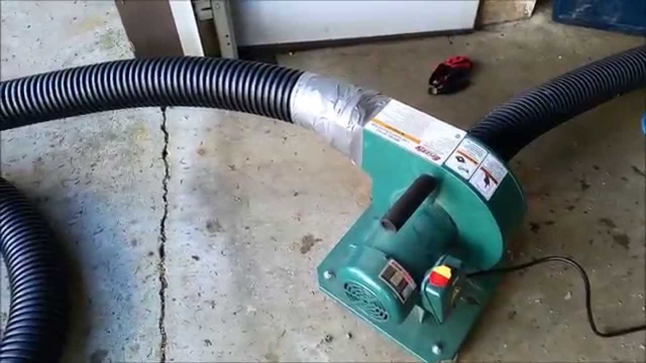 Diy blown in insulation vacuum youtube solutioingenieria Choice Image