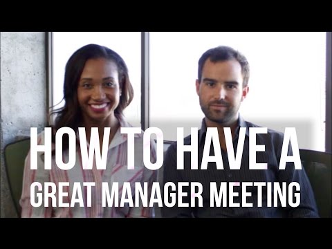 How To Have A Great Manager Meeting  ManagerSeries Volume 2  Workshop Guru