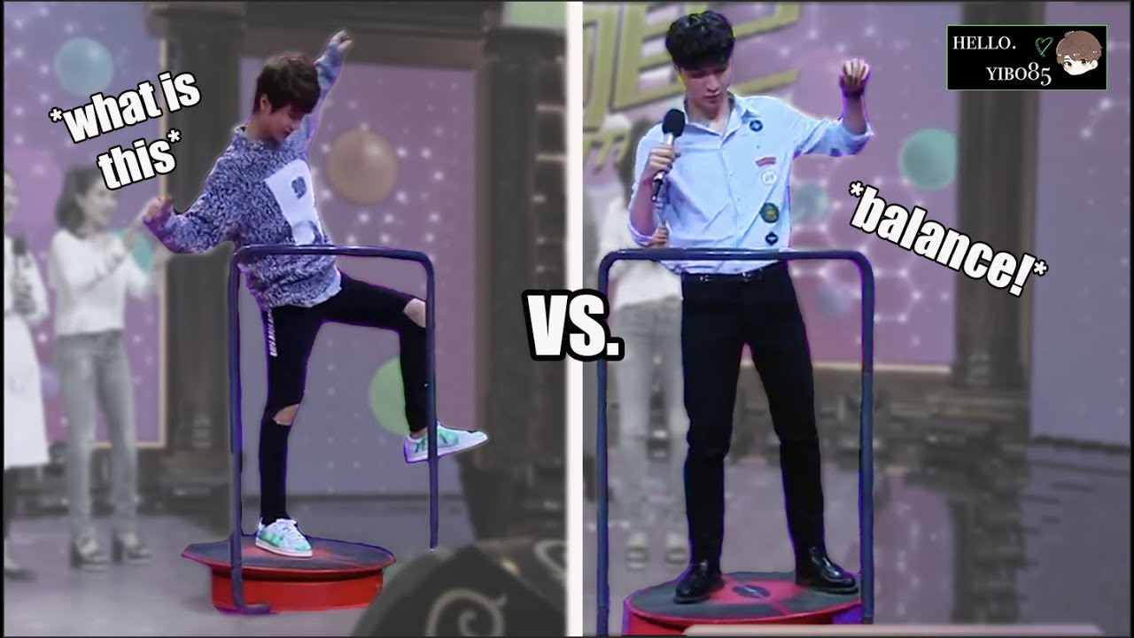 [ENG SUB] Yibo vs. Lay: Who has Better Balance? | DDU Vault