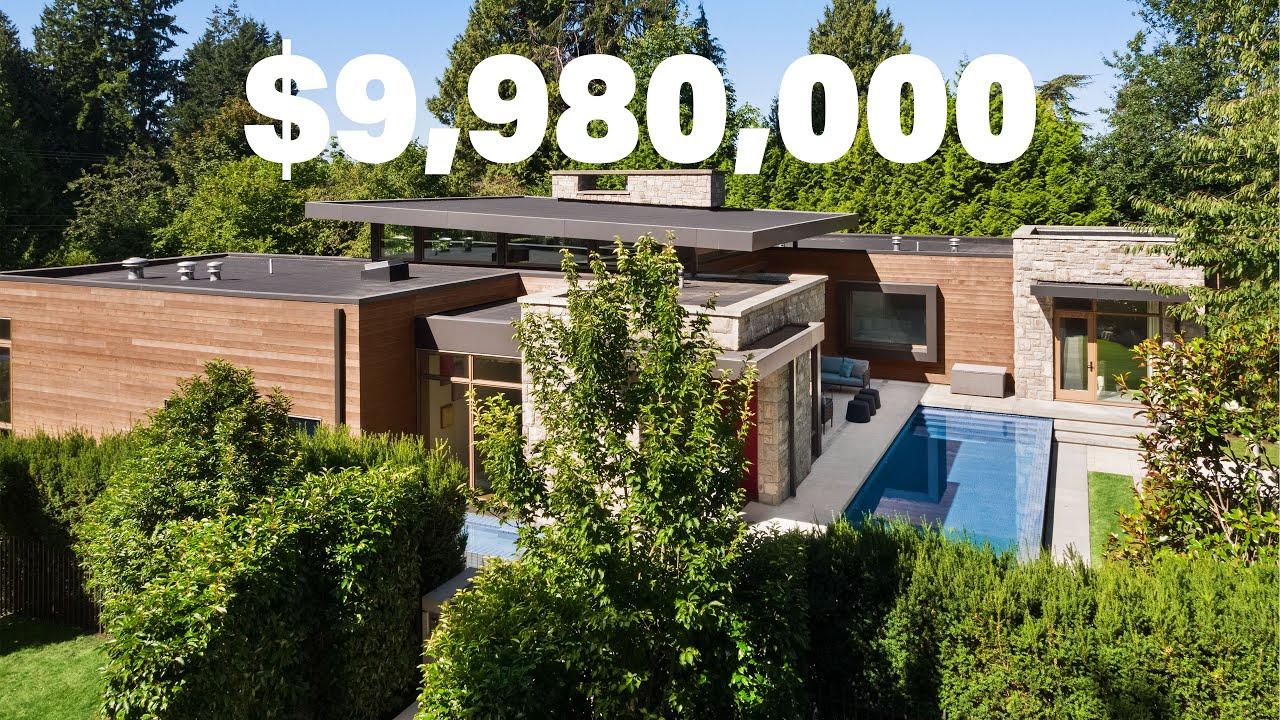Modern Mid-Century Masterpiece | $9,980,000 CAD | Vancouver West