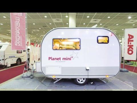 Mini Caravan with a huge interior space  2017 Korean RV