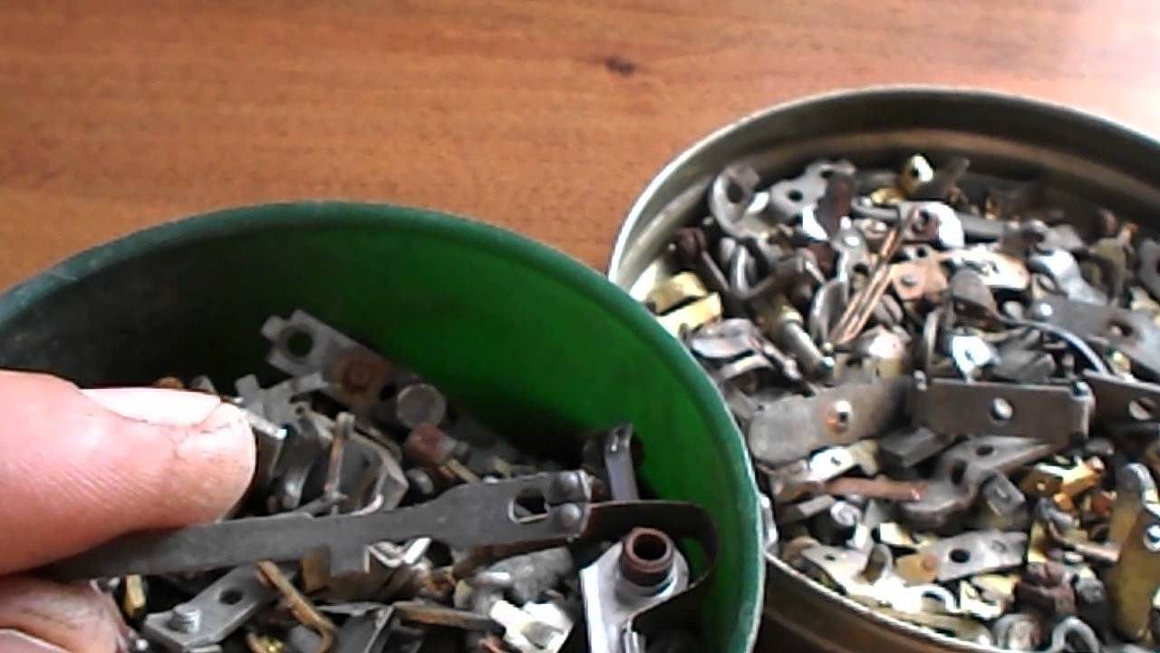 Как снять серебро с контактов в домашних условиях 955