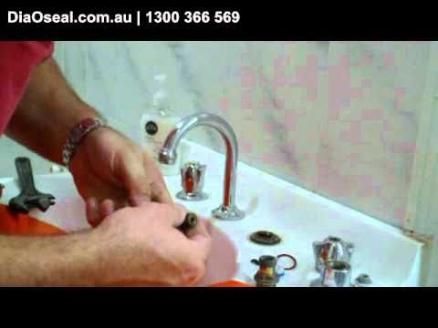 How to change or a tap washer to stop dripping tap or replace the ...