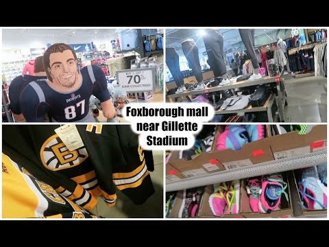 Patriots place- outdoor mall near Gillette Stadium in Foxborough, MA