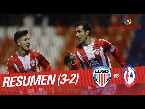 Resumen de CD Lugo vs CF Rayo Majadahonda (3-2)
