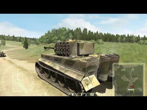 Т-34 против Тигра, Т-34-85 Миссия №2 В обороне