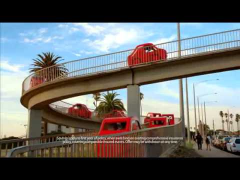 Coles Little Red Quote Insurance Ad   Coles TV Ad