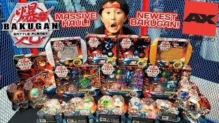 SHOPPING FOR NEW CARDS AND TOYS AT ANIME EXPO! HUGE BAKUGAN BATTLE PLANET COLLECTION HAUL!