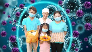 Nora's Family Pretend Play How To Take Care Yourself from Covid-19 (Coronavirus Prevention)