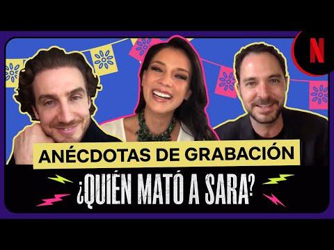 El cast de ¿Quién mató a Sara? cuenta sus mejores anécdotas al grabar la serie