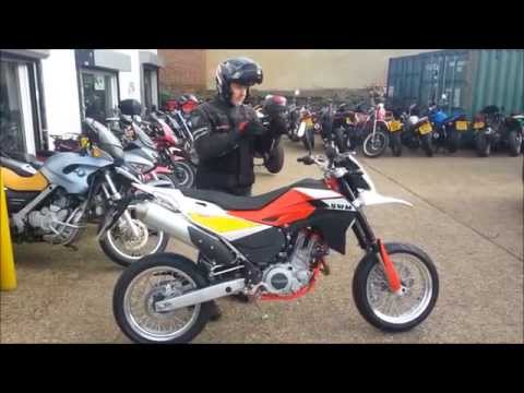 SWM 650SM Initial Ride and Impression