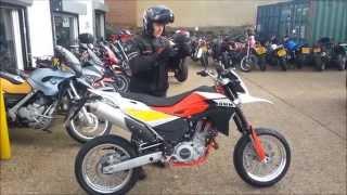 SWM 650SM Initial Ride and Impression