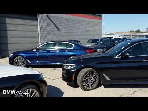 2018 BMW 5 Series Carbon Black or Mediterranean Blue?