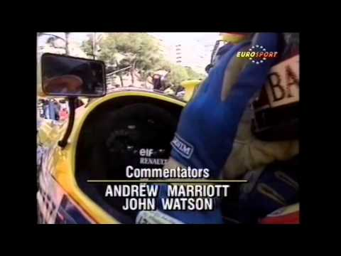 Formula 1 1990 Round 04 Monaco Qualifying Thursday (Eurosport)