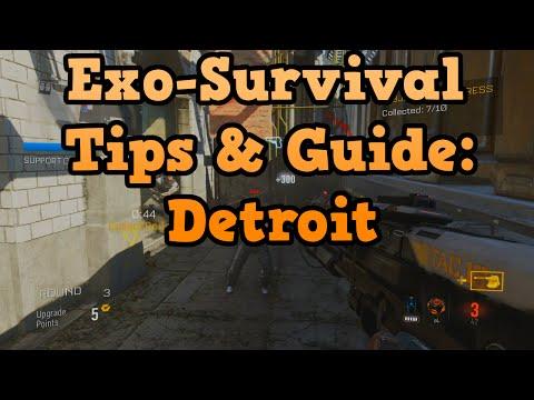 CoD Advanced Warfare Exo Survival Solo Gameplay on Detroit (Walkthrough)