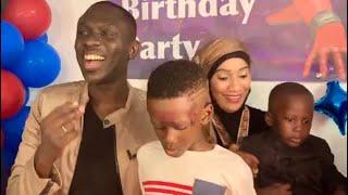 Revivez l'anniversaire royale du fils de Pape Diouf , Bébé mouhamed...