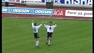 Klipp Fra Rosenborg - Brann 10-0 1996