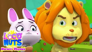 The Lion and The Rabbit | Bedtime Story for Kids | Cartoon Stories | Storytime with loco Nuts