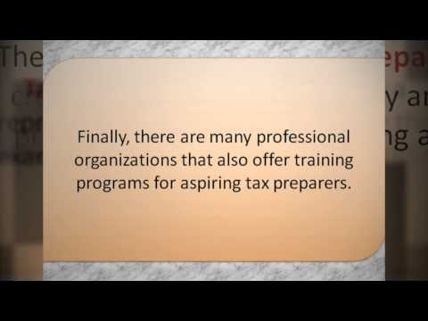 What Should I Study To Become A Tax Accounting Professional Or Tax Preparer