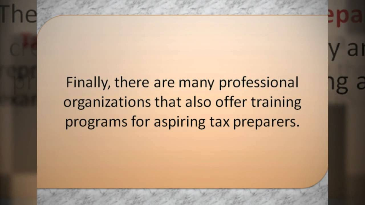 What should i study to become a tax accounting professional or tax what should i study to become a tax accounting professional or tax preparer xflitez Images