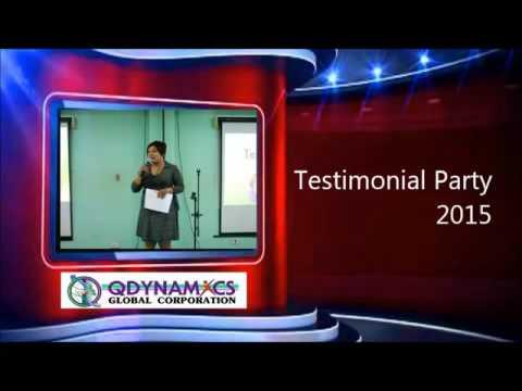 PART 1 TESTIMONIAL PARTY Quezon Ave Office COMPANY PROFILE