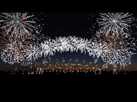Finale Fireworks Sydney Show