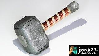 Avengers. Hammer Thor  from Resin / ART RESIN