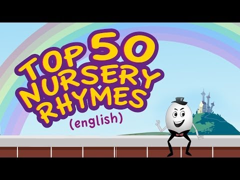 Top 50 Ba Songs  English Nursery Rhymes for Children  Collection of Animated Rhymes for Kids