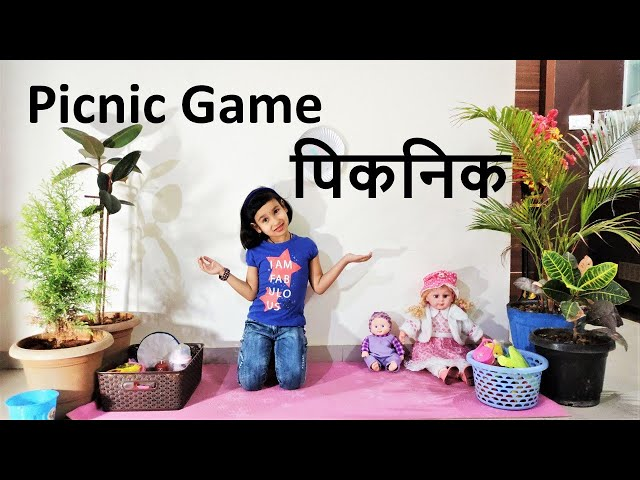 Cooking game in Hindi PART 6 | Picnic Game with Toys | पिकनिक | Pari kitchen game |LearnWithPari