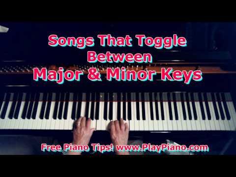 Relative Major & Minor Keys In The Same Song
