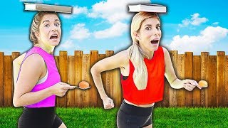 10 Item At Home Workout Challenge! | Rebecca Maddie Challenges