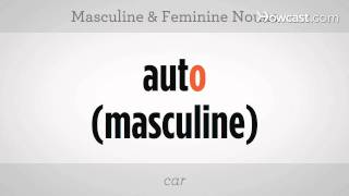 How to Use Masculine & Feminine Nouns | Spanish Lessons