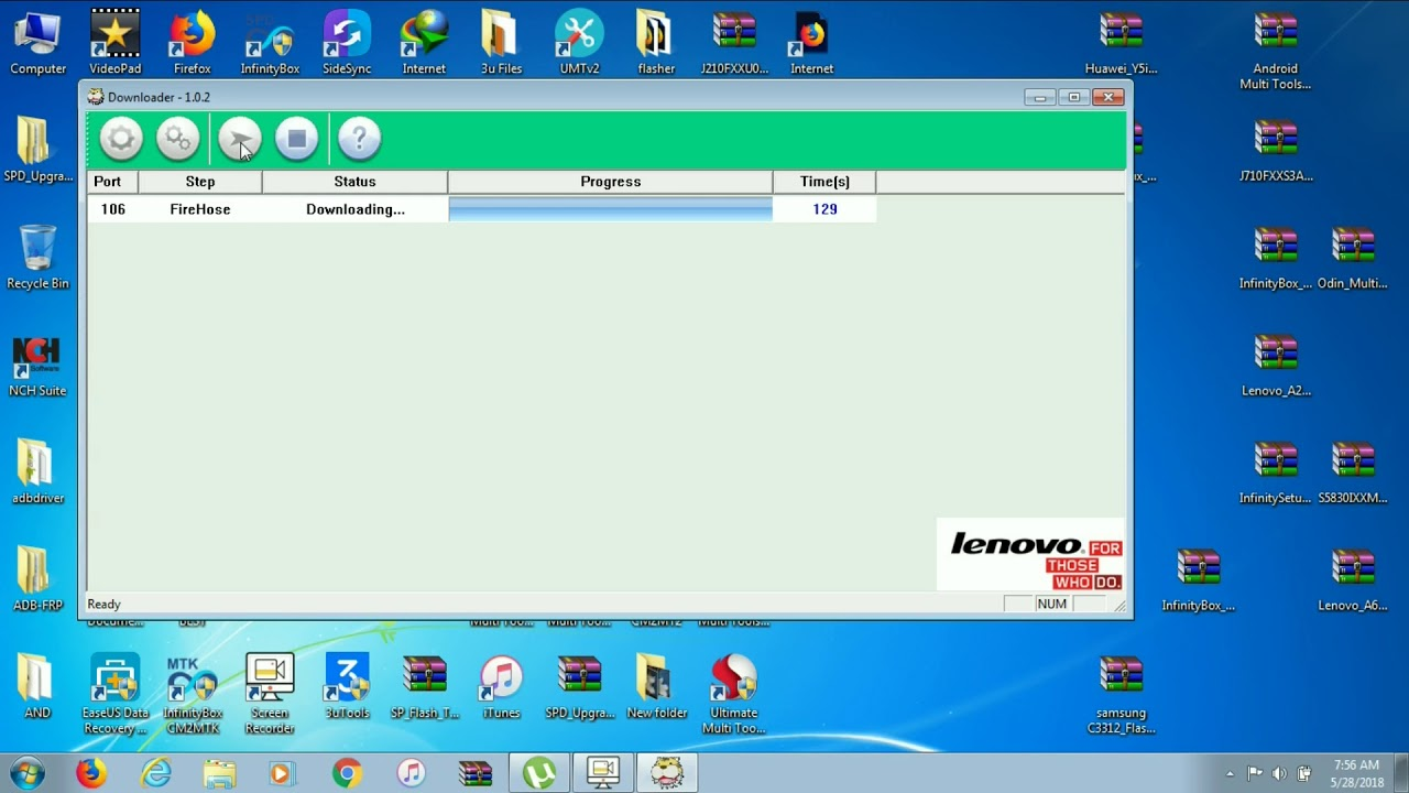 Lenovo A6000 Flashing flash file and flash tool