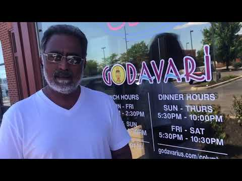 Actor Benerjee talking about Godavari Columbus, USA