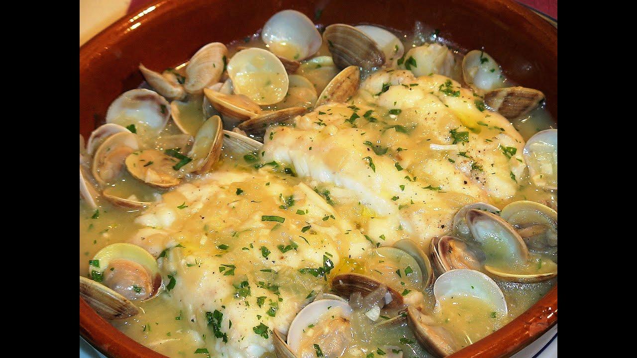 Receta Merluza Con Almejas En Salsa Verde Recetas De Cocina Paso