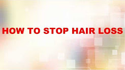 How To Stop Loss Hair|Hair Thinning In Men and Women Naturally