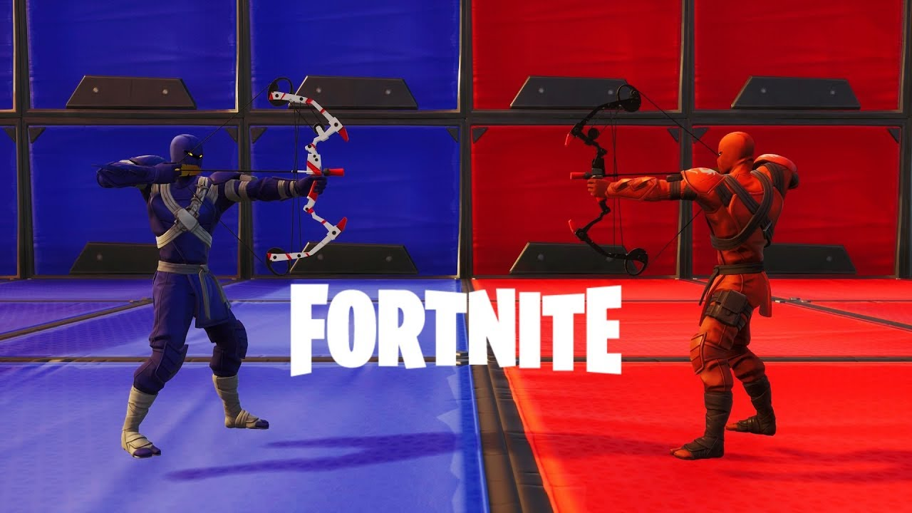 BOW WARS I RED VS BLUE!