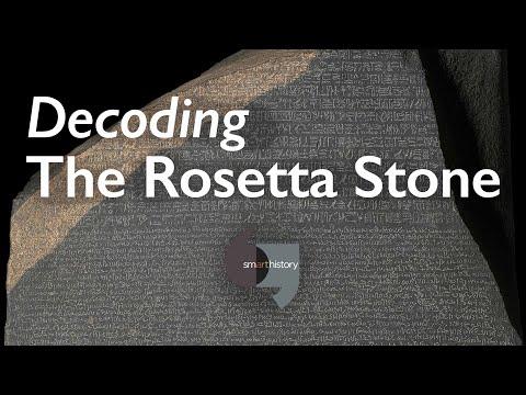 Decoding The Rosetta Stone (corrected Version)