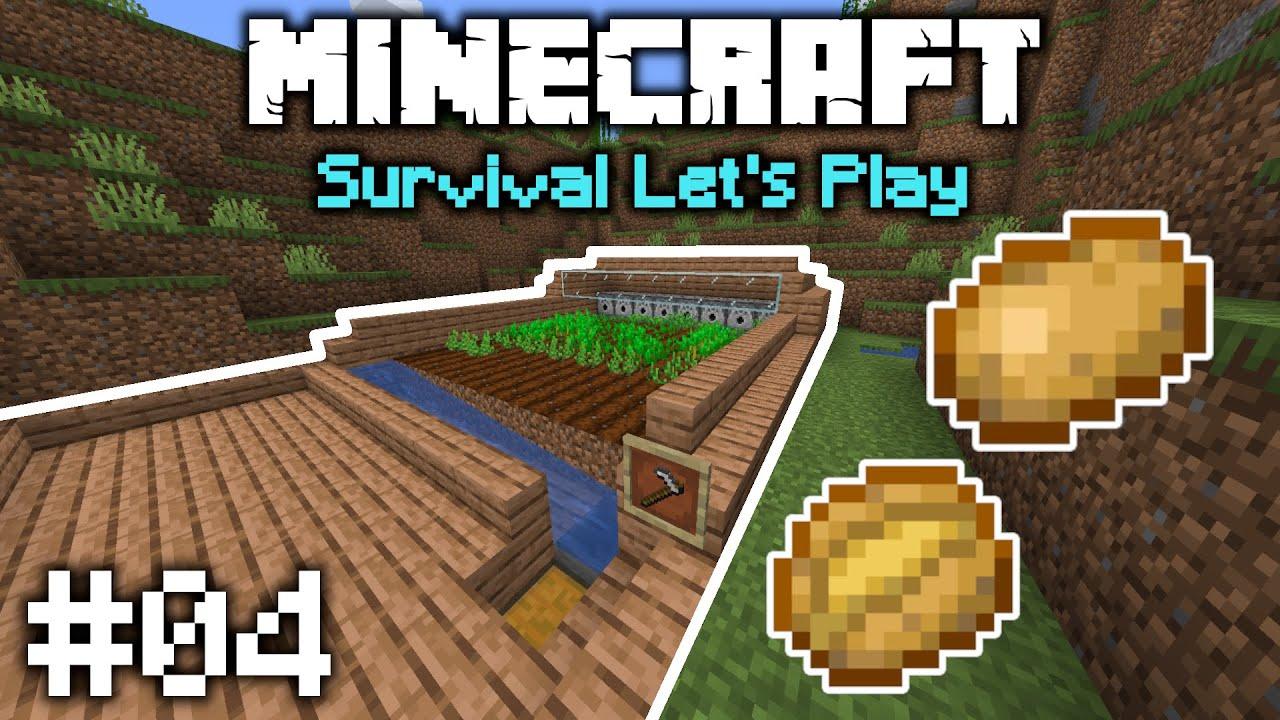 Minecraft 1.16 Vanilla Let's Play | Semi Automated Farm and Diamonds! | E04