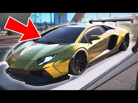 GOLD LAMBORGHINI HEIST!! (Need for Speed: Payback)