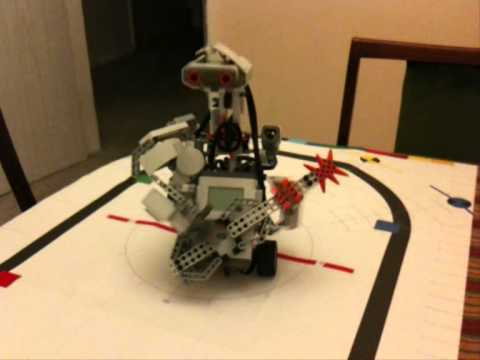Guitar Playing Robot Lego Mindstorms NXT - YouTube