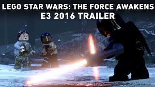 Debuting at E3 2016, this special trailer for LEGO Star Wars: The Force Awakens previews Rey's amazing journey — with LEGO's signature humor. LEGO Star ...
