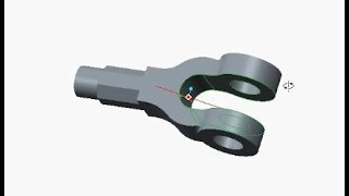 Fork End of Knuckle Joint modelling using Creo/ProE | Smart Drafter