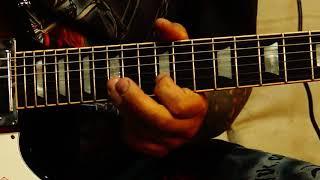 Рок соло на гитаре