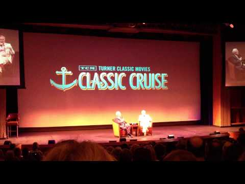 Robert Osborne Interviews Robert Wagner TCM Classic Cruise Dec 2013 (Hart to Hart Stephanie Powers)