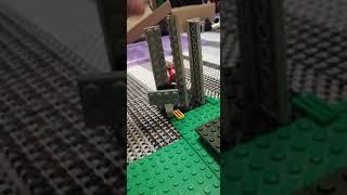 Первая часть моей самоделки Лего пиццерия fnaf