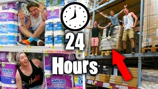TOP 5 CRAZIEST 24 HOUR TOILET PAPER FORTS ( Insane Over Night Forts )