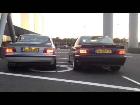 bmw e36 328i vs bmw e36 m3 engine sound youtube. Black Bedroom Furniture Sets. Home Design Ideas